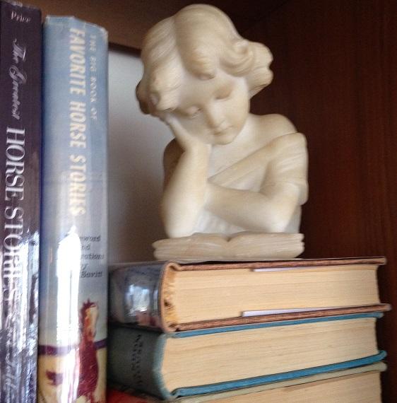 Sunny's bookshelf figurine