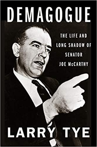 Demagogue Joe Mccarthy
