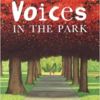 "#AtoZchallenge: ""V"" is for Voices in the Park (2001) by Anthony Browne"