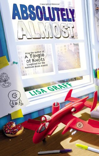 Middle Grade Review (with donuts!): Absolutely Almost (2014) by Lisa Graff
