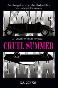 Review & Giveaway: Cruel Summer by K.R. Conway (YA Bound Book Tour)