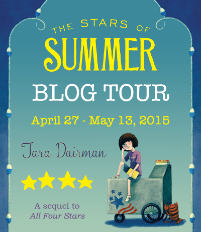 The Stars of Summer by Tara Dairman Blog Tour (Giveaway + Recipes!)