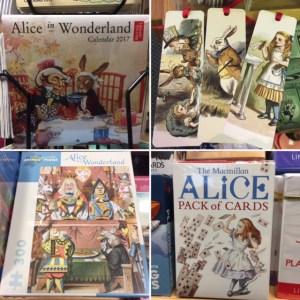 Foto-overzicht artikelen Alice in Wonderland
