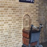 Platform 9 3/4 op King's Cross Station