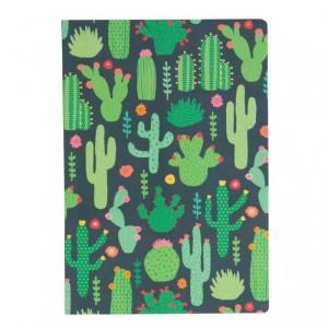 Notitieboekje A5 cactus