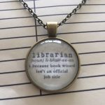 The Locket Library: necklace Librarian