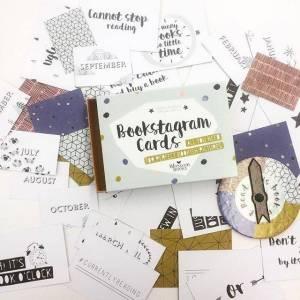 Blossom Books Bookstagram Cards
