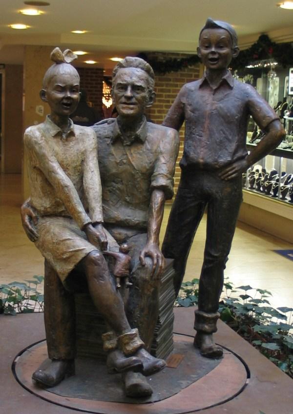 Standbeeld Vandersteen