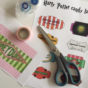 Harry Potter snoeplabels