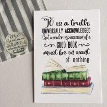 Miss Bohemia print It is a truth