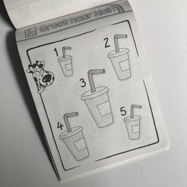 Kleuter puzzelboek oef 1