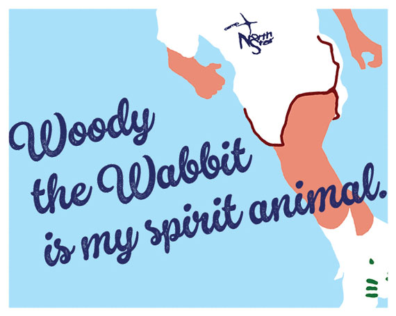 woody the wabbit