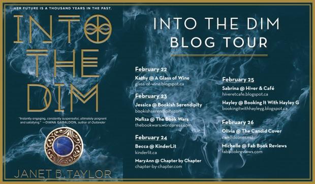 Into The Dim Blog Tour Evite