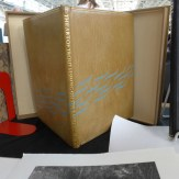 Fine bookbinding from Two Ponds Press in Maine