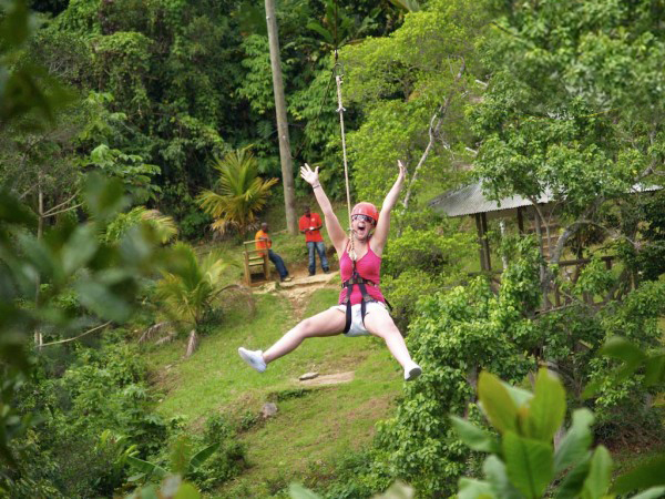 Dunn's River Falls & Zip Line Adventure Ocho Rios | Book Jamaica Excursions | bookjamaicaexcursions.com | Karandas Tours