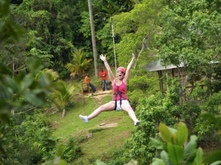 Dunn's River Falls & Zip Line Adventure Ocho Rios | Book Jamaica Excursions | bookjamaicaexcursions.com | Karandas Tours