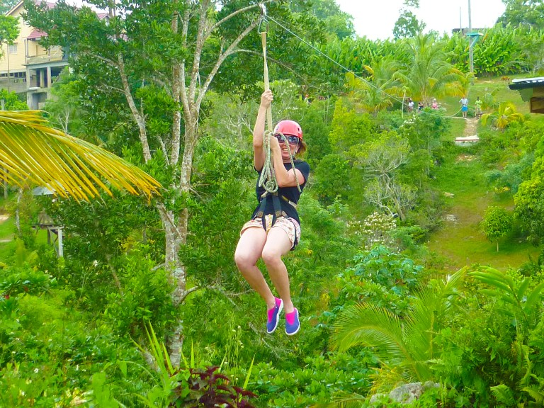 Canopy Zip Line & River Tubing Adventure | Book Jamaica Excursions | bookjamaicaexcursions.com | Karandas Tours