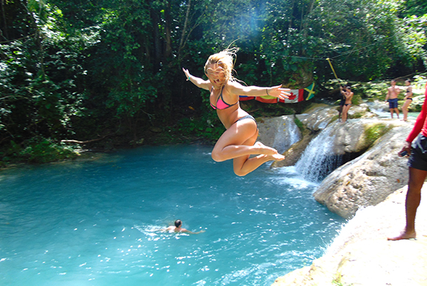 Blue Hole, Secret Falls & Dunn's River Falls