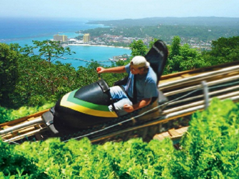 Bobsled | Book Jamaica Excursions | bookjamaicaexcursions.com | Karandas Tours