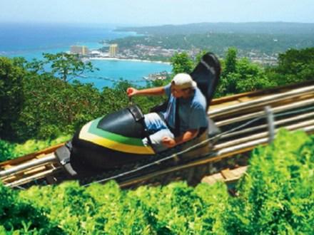 Bobsled | Book Jamaica Excursions | bookjamaicaexcursions.com | Karandas Tours
