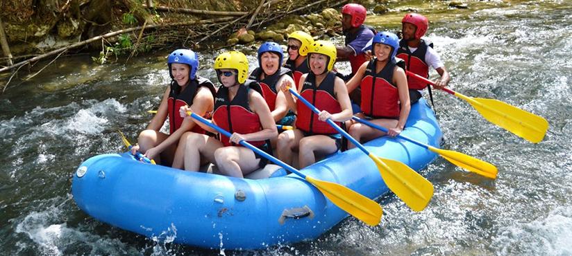 White River Rafting | Book Jamaica Excursions | bookjamaicaexcursions.com | Karandas Tours