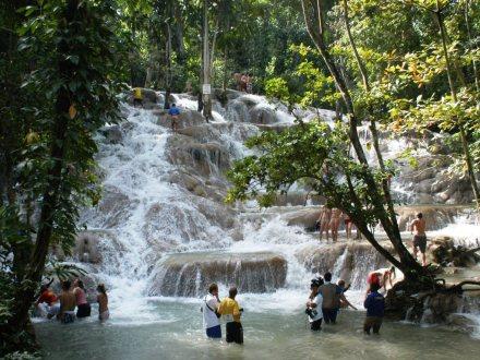 Dunn's River Falls & Zip Line Adventure| Book Jamaica Excursions | bookjamaicaexcursions.com | Karandas Tours