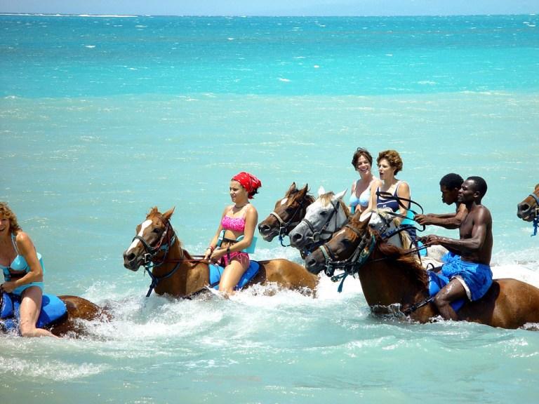 Beach Horseback Ride & River Tubing Adventure | Book Jamaica Excursions | bookjamaicaexcursions.com | Karandas Tours