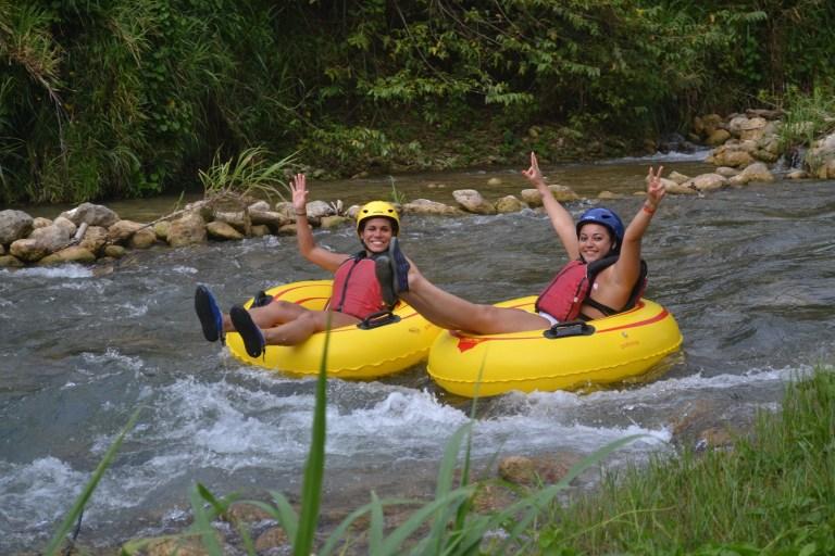 Dunn's River Falls, Zip Line & River Tubing Adventure