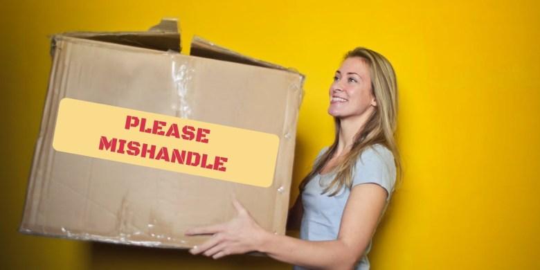 Please mishandle - Antifragile