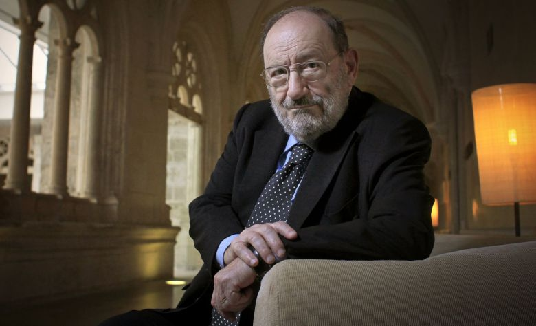 Late Umberto Eco, author of Numero Zero