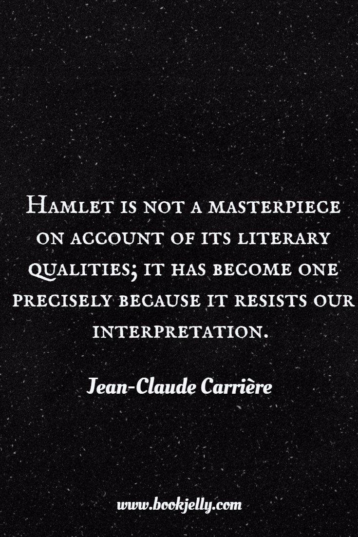 Jean-Claude Carriere Quote from 'This is not the end of the book'