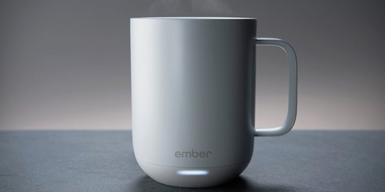 Ember technologies' temperature controlled Coffee Mug