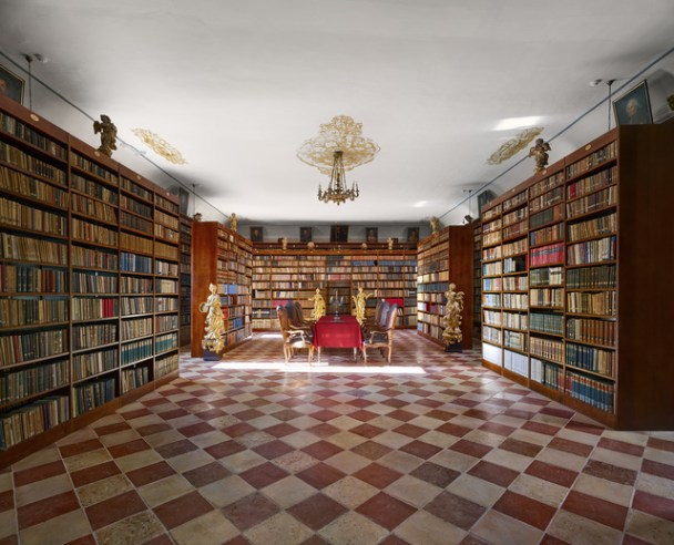 Library of the Franciscan Monastery - Best Literary Destinations in Croatia
