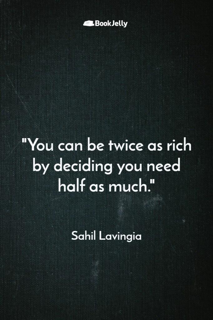 Quotes - Sahil Lavingia