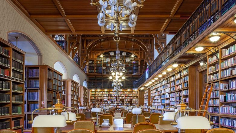 The Parliament Library Budapest