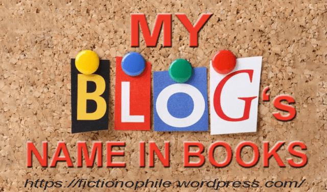 Blogs in books