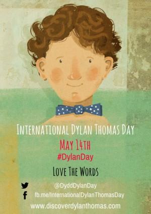 Dylan Thomas Day Poster