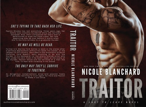 Traitor front and back cover