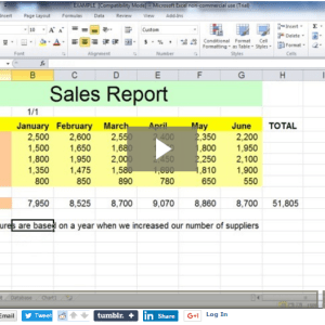 Microsoft Excel Beginners Course Training Videos