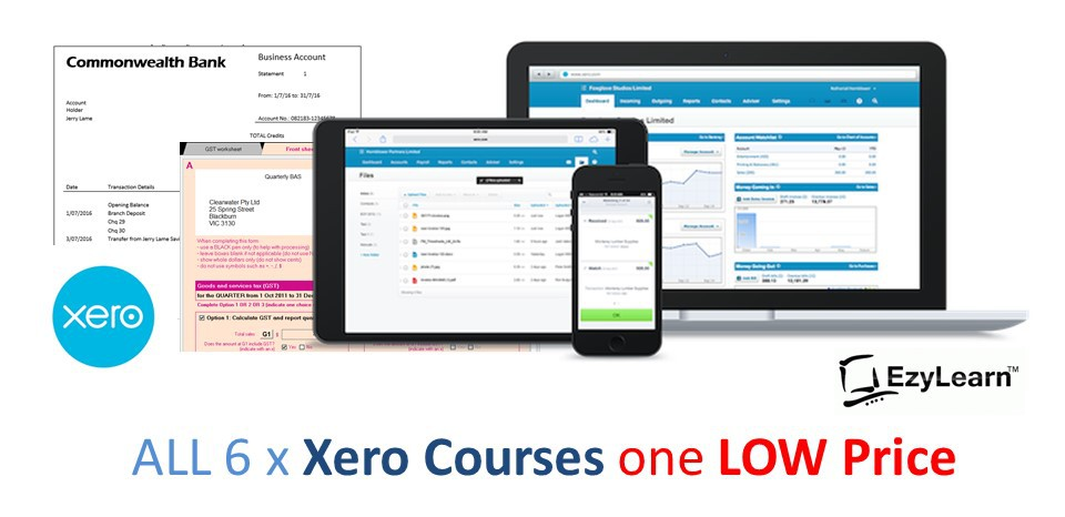 Xero COMPLETE Training Course Package (with Accounting Tutor)