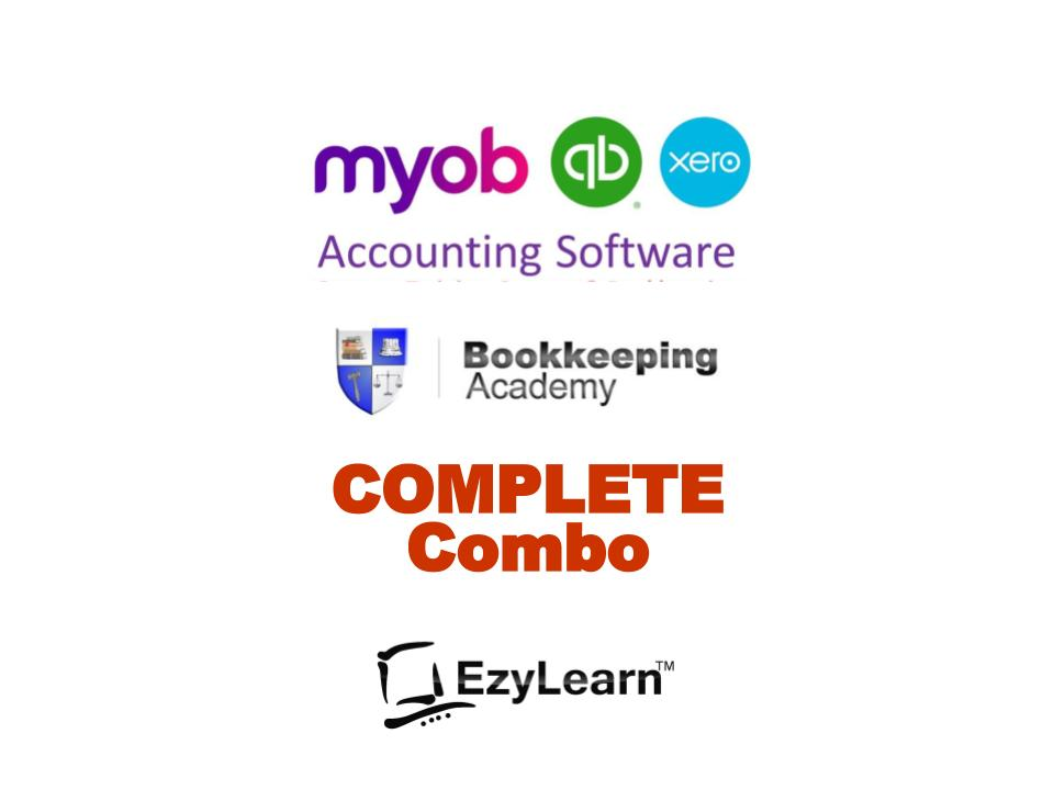 Bookkeeping Academy COMPLETE Combination Training Package