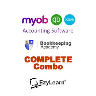 Xero Course, MYOB Course, QuicBooks Course - COMPLETE Suite Training & Support - Bookkeeping Academy