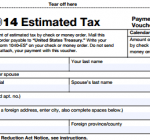 TAX YEAR 2014: IRS Due Dates — Estimated Tax Payments (Form 1040-ES)