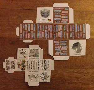 Examples of Short Run Printed Original & Medium size StoryCubes