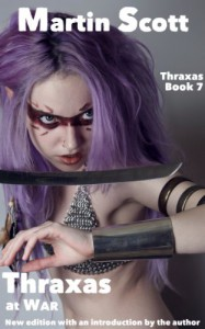 Thraxas at War - Martin Scott