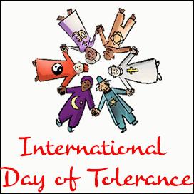 7 - International Day for Tolerance