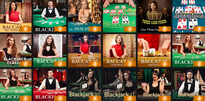 Карточные игры в казино FastPay