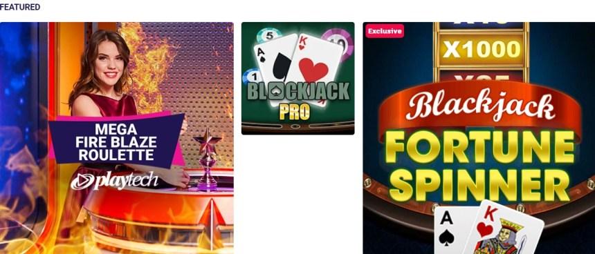 Настольные игры в казино Party Casino