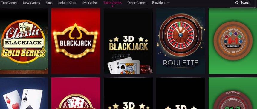 Настольные игры в казино PlayGrand