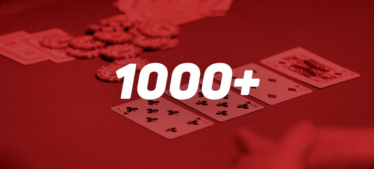 Почти 1000 нелегальных казино работают на территории Украины
